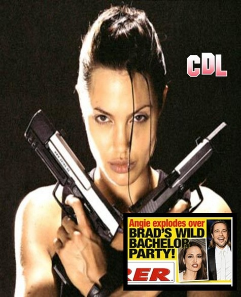 Angelina Jolie Explodes In Rage Over Brad Pitt's Bachelor Party