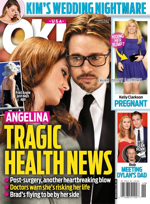 Angelina Jolie Health Crisis: Brad Pitt Rushes To Her Side (PHOTO)