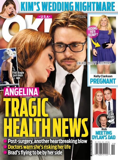 Angelina Jolie Health Crisis: Brad Pitt Rushes To Her Side (PHOTO)