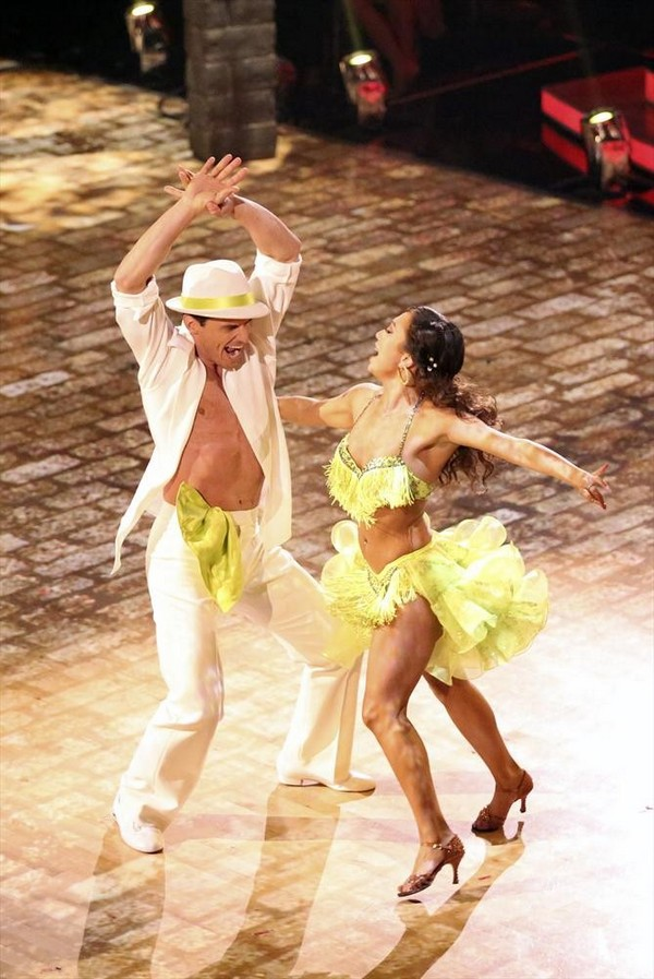 Antonio Sabato Jr & Cheryl Burke Dancing With the Stars Viennese Waltz Video Season 19 Week 7 #DWTS