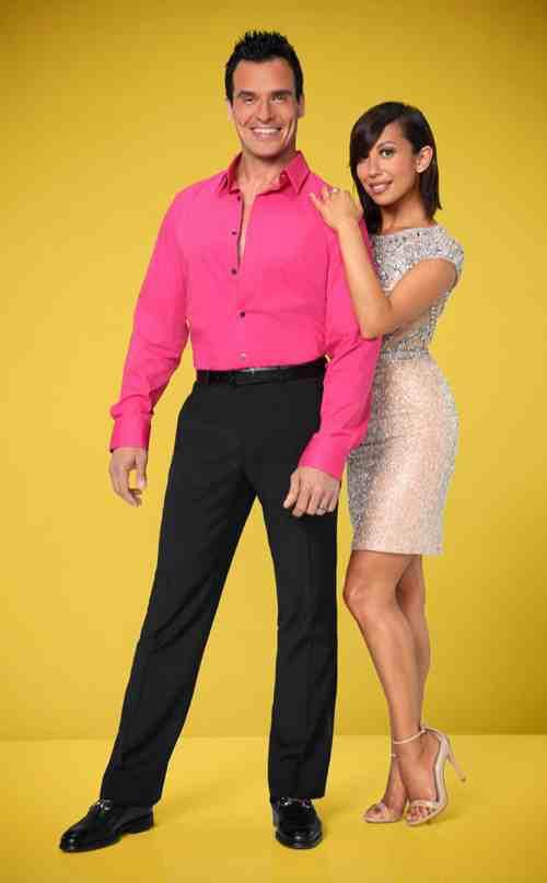 Antonio Sabato JR. & Cheryl Burke Dancing With the Stars Samba Video Season 19 Week 4 10/6/14 #DWTS