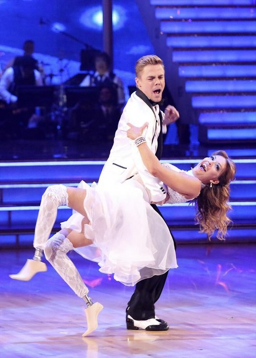 Amy Purdy Dancing With the Stars Rumba Video 4/28/14 #DWTS