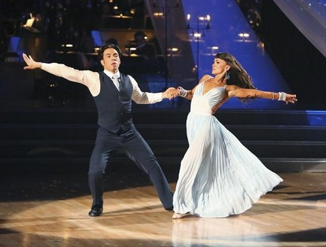 Apolo Anton Ono Dancing With the Stars All-Stars Cha Cha/Paso Doble Fusion Performance Video 11/5/12
