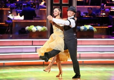 Apolo Anton Ohno Dancing With the Stars All-Stars Foxtrot Performance Video 10/8/12
