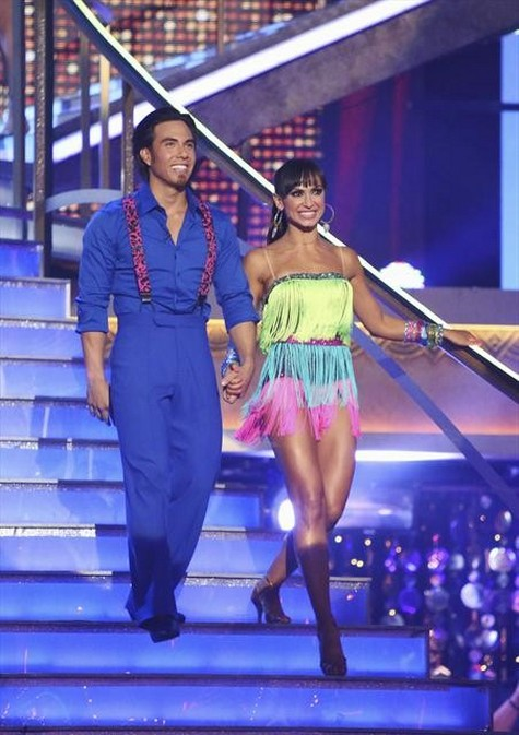 Apolo Anton Ohno Dancing With the Stars All-Stars Quickstep Performance Video 10/01/12