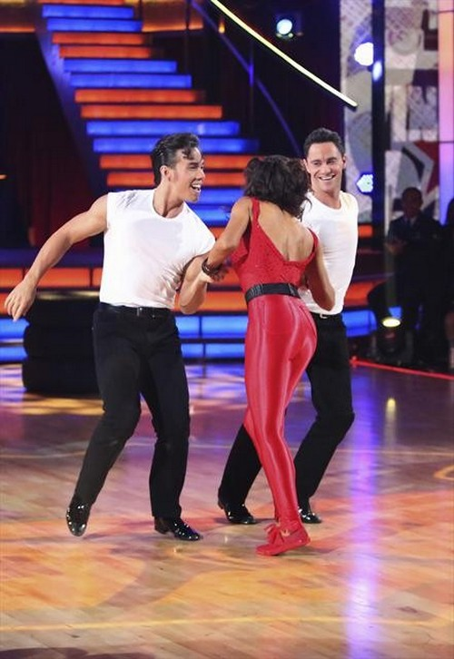 Apolo Anton Ohno Dancing With the Stars All-Stars Big Top Jazz Performance Video 11/19/12