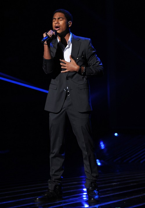"Arin Ray The X Factor ""Hero"" Video 11/21/12"