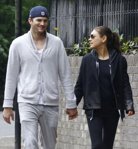 Ashton Kutcher Meets Mila Kunis' Parents In London - Is A Wedding Soon? 0521