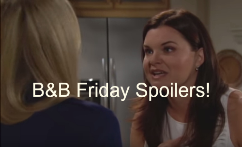 'The Bold and The Beautiful' Spoilers: Katie and Brooke Feud Over Booze and Betrayal – Liam Struggles to Let Steffy Go