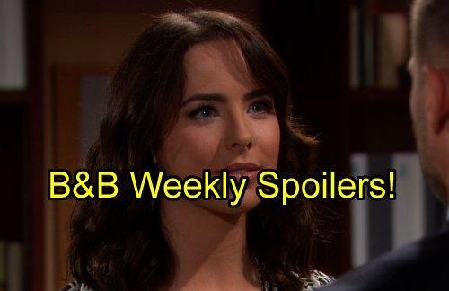 'The Bold and The Beautiful' Spoilers: Week of August 29 – Ivy Back - Eric Shades Steffy - Quinn Targets Liam - Katie Divorced