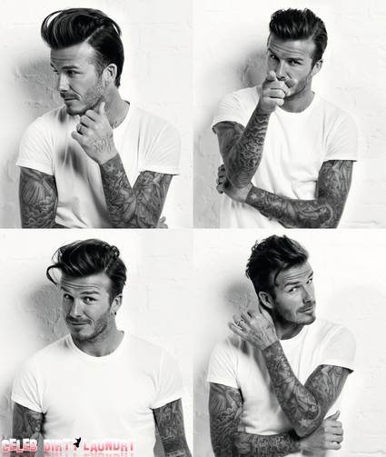 David Beckham Is The Hottest Dad Ever (Photo)
