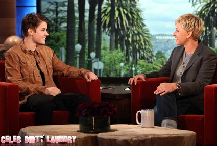 Justin Bieber's 18th Birthday Surprise On Ellen (Video)