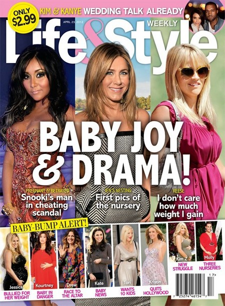 Snooki, Reese Witherspoon and Jennifer Aniston's Baby Joy & Drama (Photo)