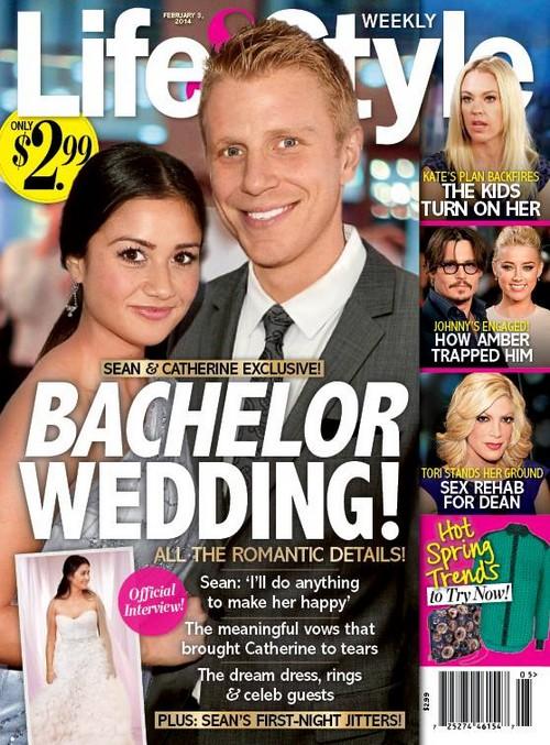 Sean Lowe and Catherine Giuidici Bachelor Wedding Night Virgin Jitters - LOL! (PHOTO)