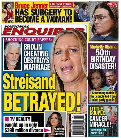 Barbra Streisand Betrayed by James Brolin's Open Marriage and Cheating Claims Ex-Wife Jane Agee (PHOTO)