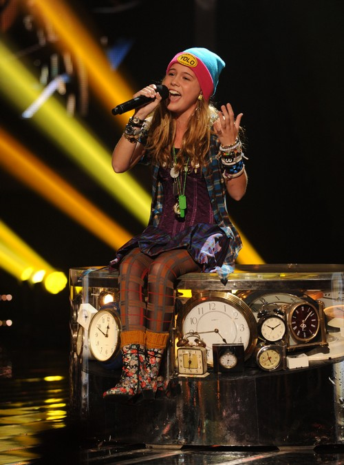 "Beatrice Miller The X Factor ""Chasing Cars"" Video 11/21/12"