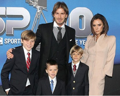 David Beckham Says Wife Victoria Is An Inspriation To Him