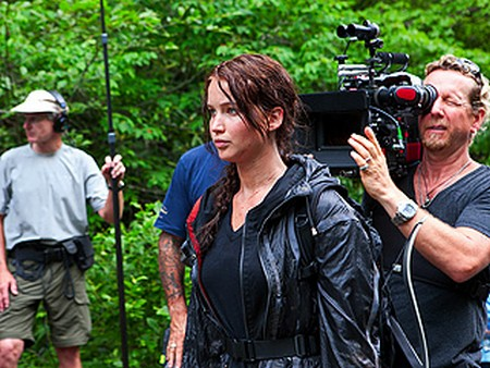 Get Behind The Scenes Of The Hunger Games!
