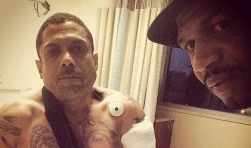 Love and Hip Hop: Atlanta's Benzino Shot Three Times By Nephew Driving To His Mother's Funeral (PHOTO)