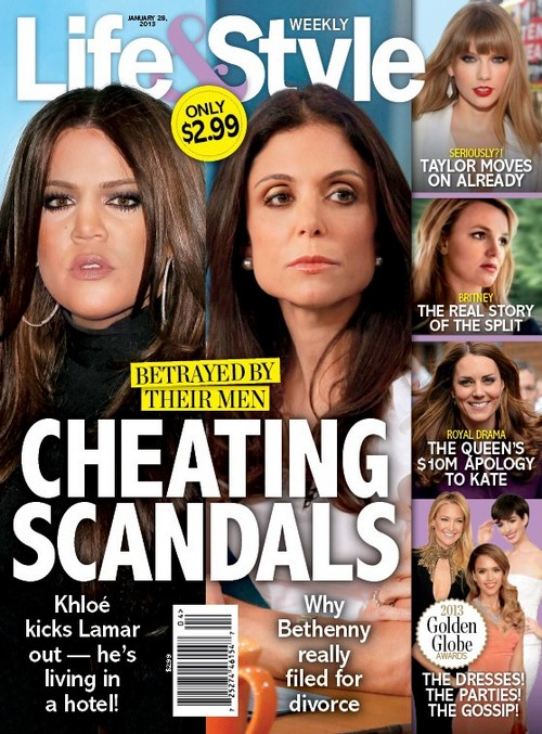 Cheating Scandal: Khloe Kardashian Kicks Lamar Odom Out