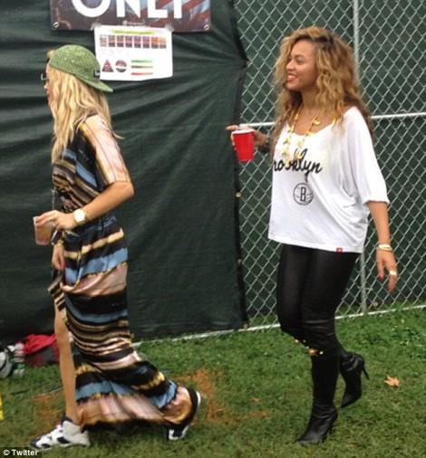 The War Continues! Beyonce Shuns Kim Kardashian Because Of Rita Ora Diss 0903