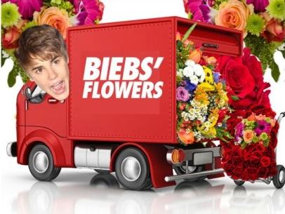 Justin Bieber Sent Selena Gomez A Truckload of Flowers!