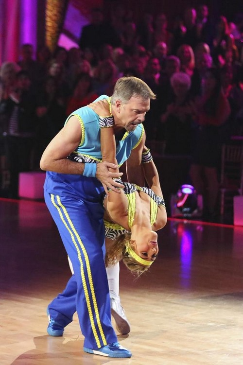 Bill Engvall Dancing With the Stars Freestyle Video 11/25/13 #DWTS
