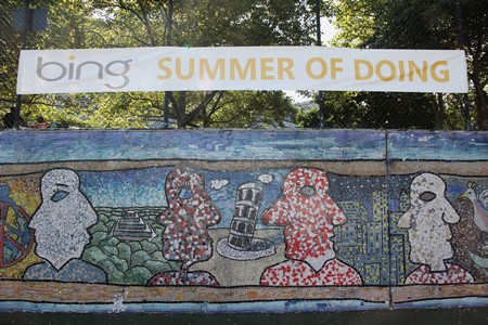 Bing and DoSomething.org Celebrate Bing Summer of Doing (Photos)