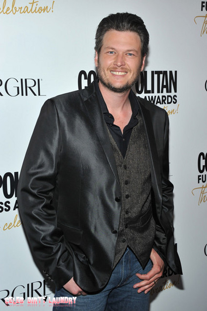 Blake Shelton Has A Man Crush On Adam Levine