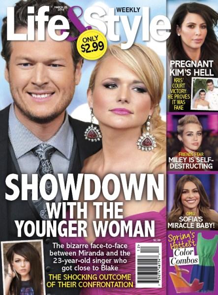 Miranda Lambert Has Showdown With Blake Shelton's Younger Women