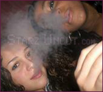 Whitney Houston's Daughter Bobbi Kristina Partying And Smoking (Photos)