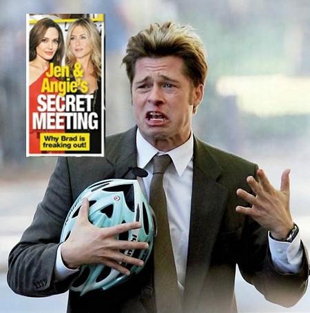 Brad Pitt Freaks Out: Angelina Jolie and Jennifer Aniston Have A Secret Meeting