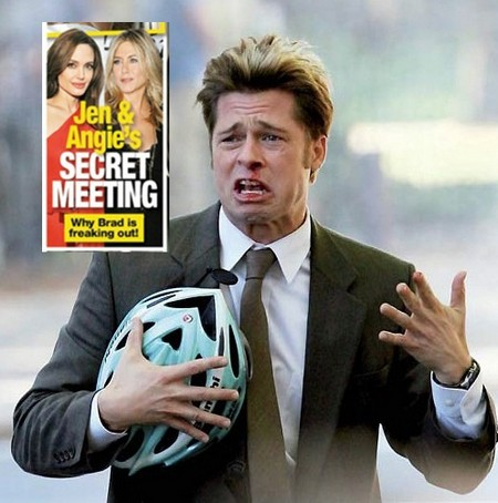 Brad Pitt Freaks Out: Angelina Jolie and Jennifer Aniston Have A Secret Meeting
