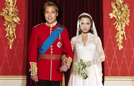 Angelina Jolie Wants To Copy Kate Middleton And Prince William's Royal Wedding (Photo)