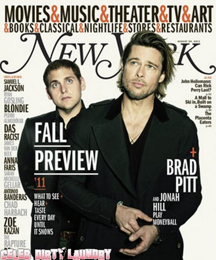 Brad Pitt Sexy On The Cover Of New York Magazine