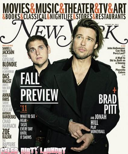 Brad Pitt Sexy On The Cover Of New York Magazine