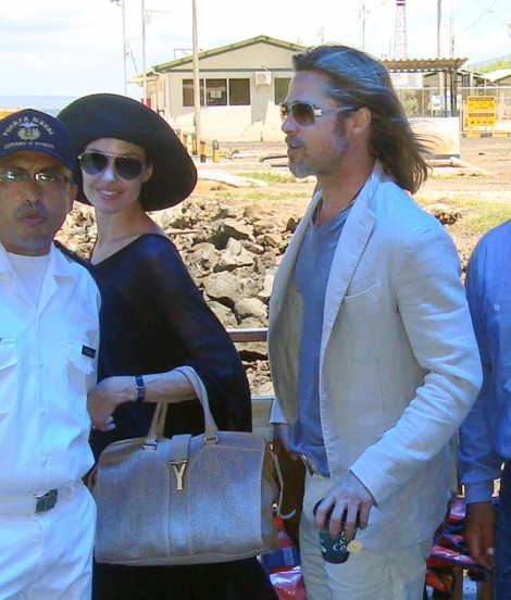 Brad Pitt, Angelina Jolie Vacation In Caribbean With Kids And 12 Nannies! 1228