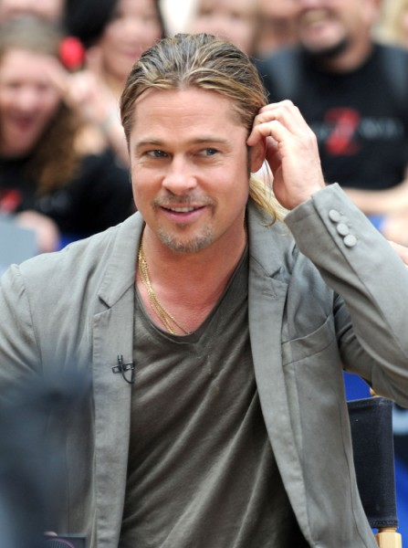 Brad Pitt's Face Pumped With Fillers To Combat Turning 50 - Still Hot? 0618