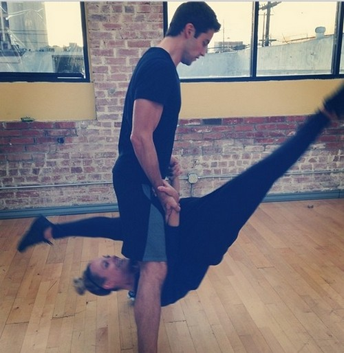 Brant Daugherty Dancing With the Stars Salsa Video 10/7/13