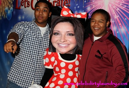 Bristol Palin and Kyle Massey Are Besties