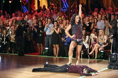 Bristol Palin Dancing With the Stars All-Stars Paso Doble Performance Video 10/8/12