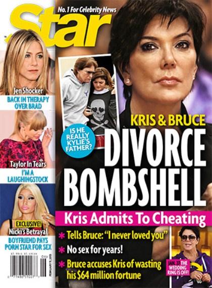Kris Jenner Admits Bruce Jenner NOT Kylie's Father? - Divorce Bombshell (Photo)