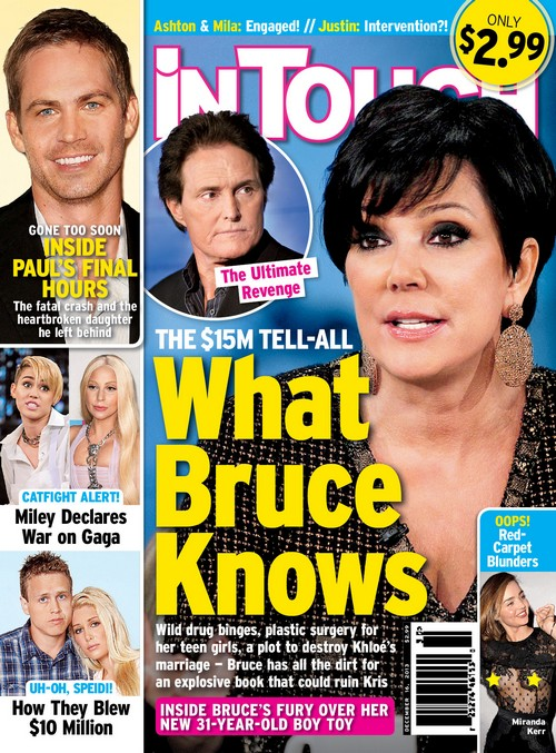 Bruce Jenner Destroys Kim Kardashian, Kris and Family With $15 Million Explosive Tell-All (PHOTO)