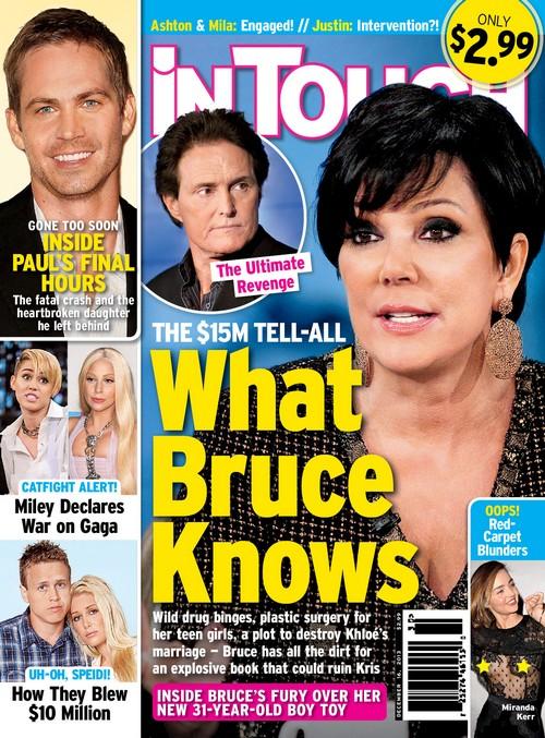 Bruce Jenner Destroys Kim Kardashian, Kris and Family With $15 Million Explosive Tell-All (PHOTO)