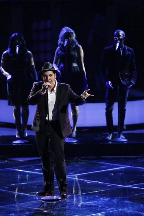 """Bryan Keith The Voice Top 10 """"New York State of Mind"""" Video 11/19/12"""
