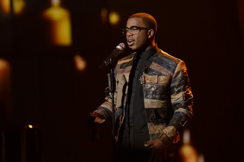 """Burnell Taylor American Idol """"My Cherie Amour"""" Video 3/27/13"""