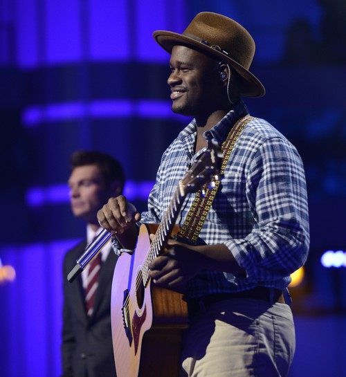 "C.J. Harris American Idol ""Radio"" Video 2/26/14 #IdolTop13"