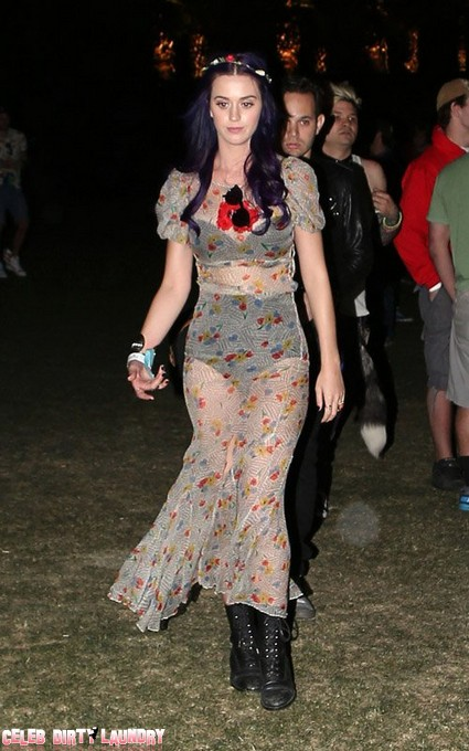 Rihanna, Katy Perry And Fergie Party At Coachella On Day 2 (Photos)