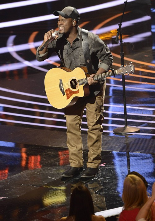 "C.J. Harris American Idol ""Waiting On The World To Change"" Video 3/5/14 #IdolTop12"