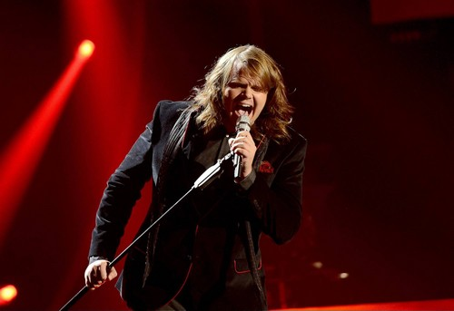 "Caleb Johnson American Idol ""The Edge of Glory"" Video 3/19/14 #IdolTop10"